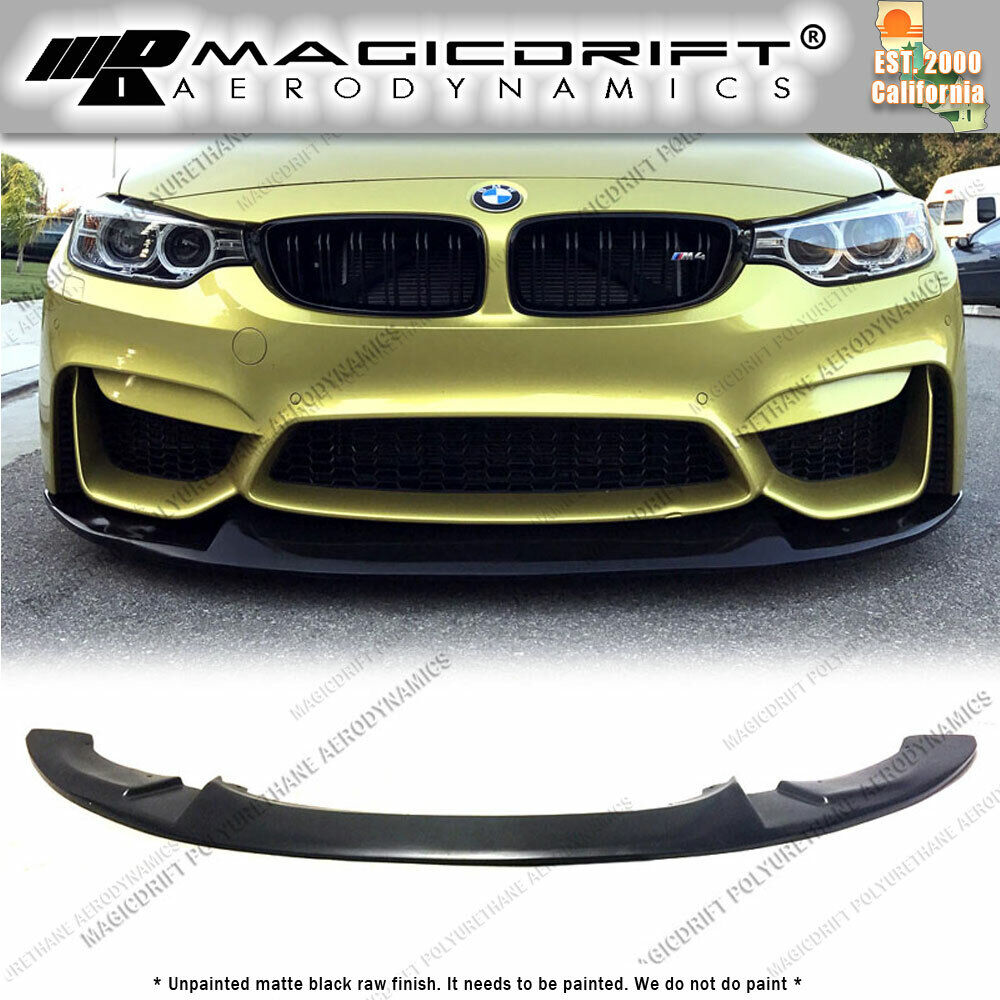 For BMW F80 M3 F82 M4 CS Style Front Bumper Lower Chin Lip
