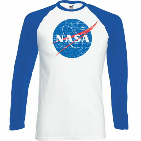 img-NASA - Mens Geek Nerd Big Bang Theory Logo T-Shirt Retro Space Sheldon Cooper