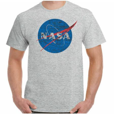img-NASA Logo T-Shirt Mens Geek Nerd Big Bang Theory Retro Space Sheldon Cooper