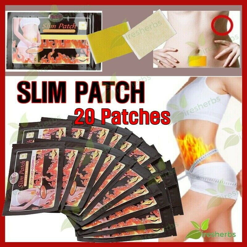 100pcs=10bags slimming navel stick slim patch emagrecedor lose.