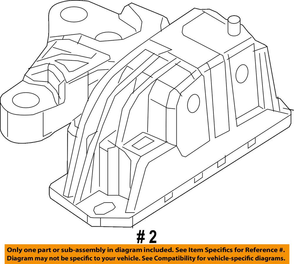 Jeep chrysler oem 17 18 compass engine torque strut mount 68253037ad 2003 chrysler town and country parts diagram details about jeep chrysler oem 17 18 compass engine torque strut mount 68253037ad
