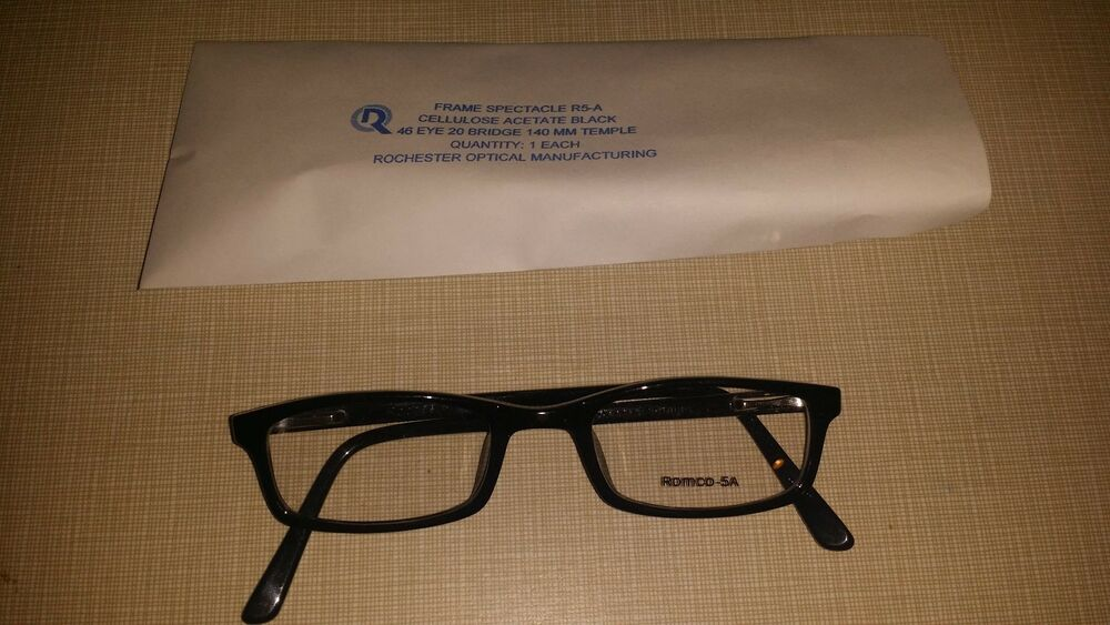 069b1246f15 ROCHESTER OPTICAL R-5A FRAME SPECTACLE EYE GLASSES SIZE 46-20-140 OPTOMETRY  PROP