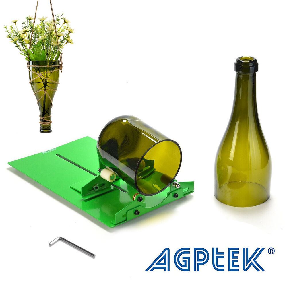 DIY Glass Bottle Cutter Machine Recycles Wine Bottles