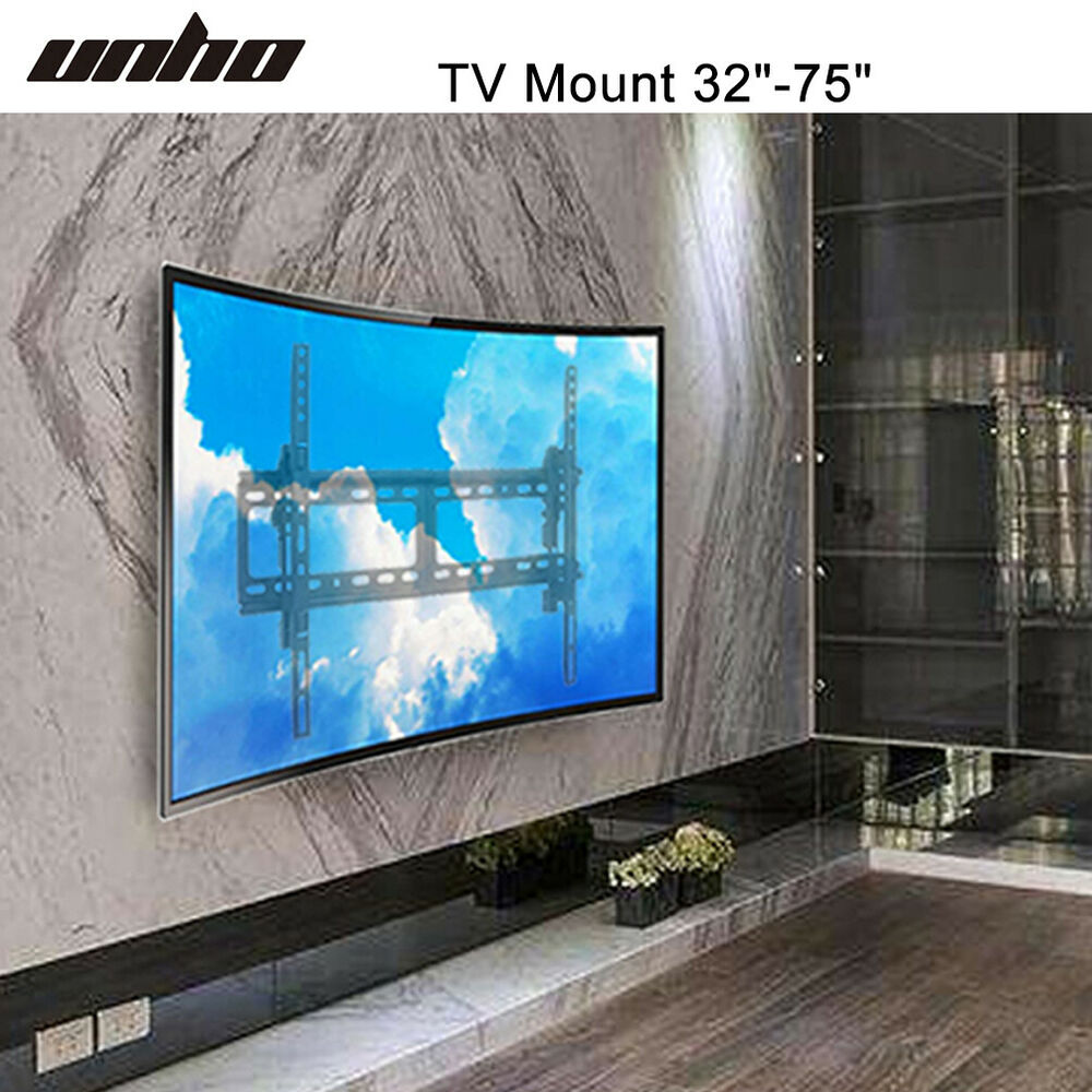Articulating Curved Panel Tv Wall Mount Bracket For 32 Quot 75