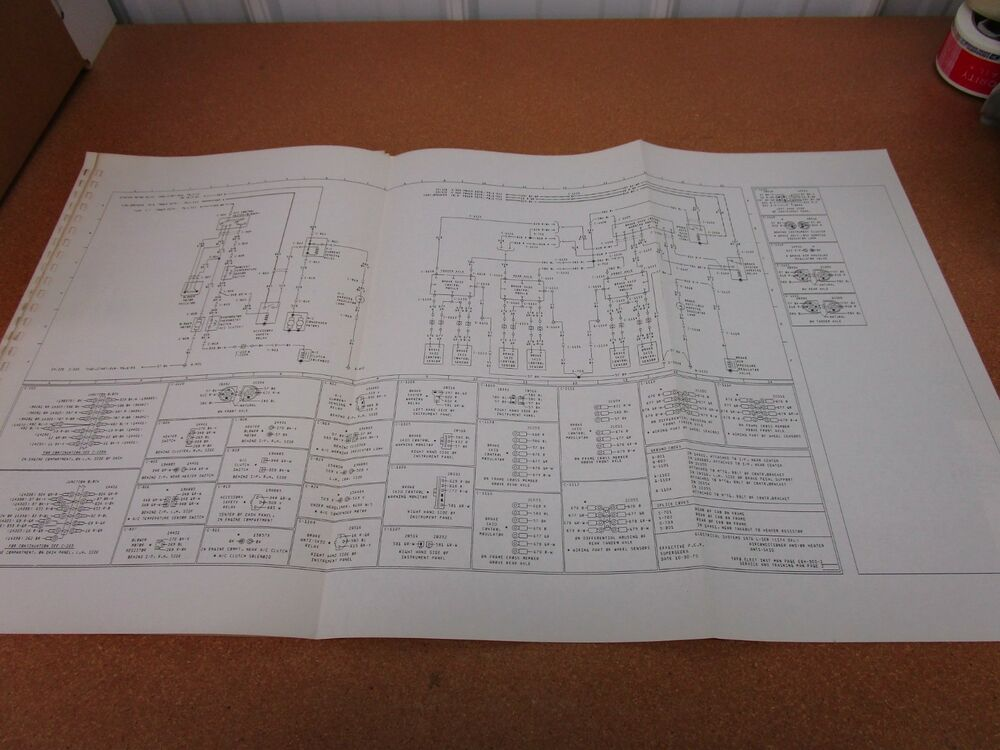 1976 Ford L-series Delivery 700 wiring diagram SHEET ...