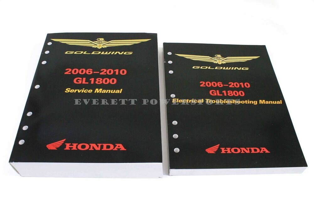 new service shop repair manual 2006-2010 gl1800 goldwing oem honda book  #n13 | ebay