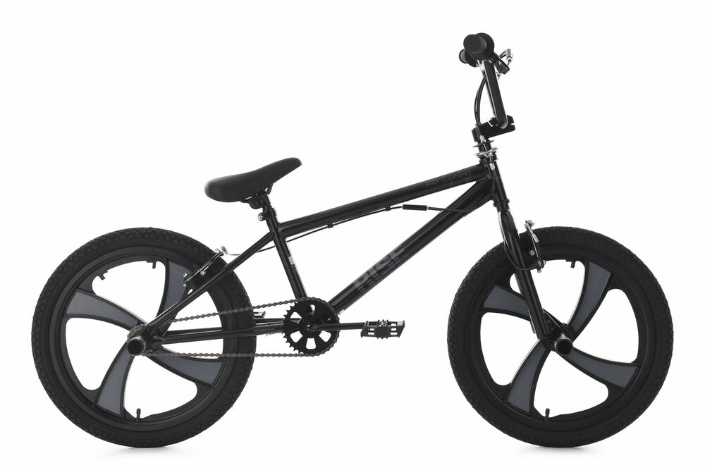 20 bmx bike freestyle fahrrad rad rise schwarz grau ks. Black Bedroom Furniture Sets. Home Design Ideas