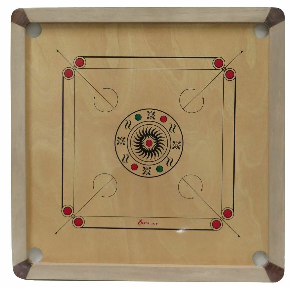 Carrom Game Board Rules | Our Pastimes