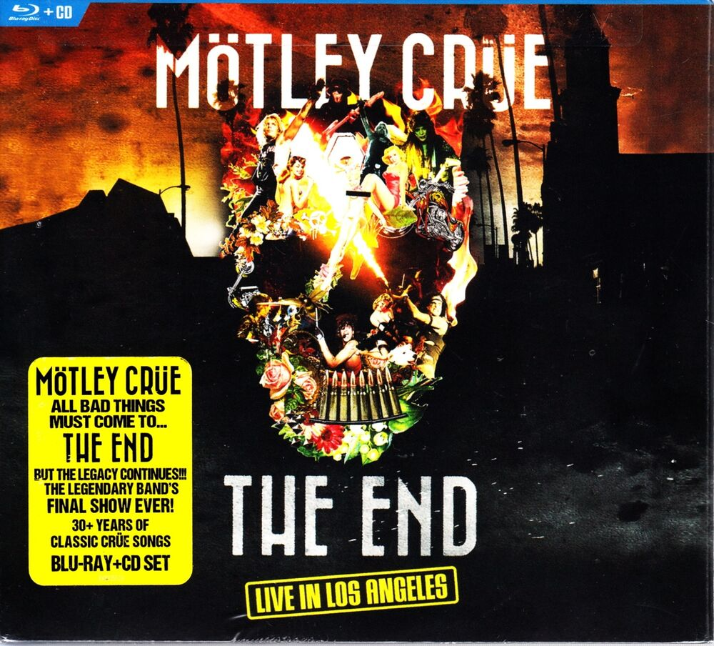 LIVE IN LOS ANGELES BLU RAY + CD