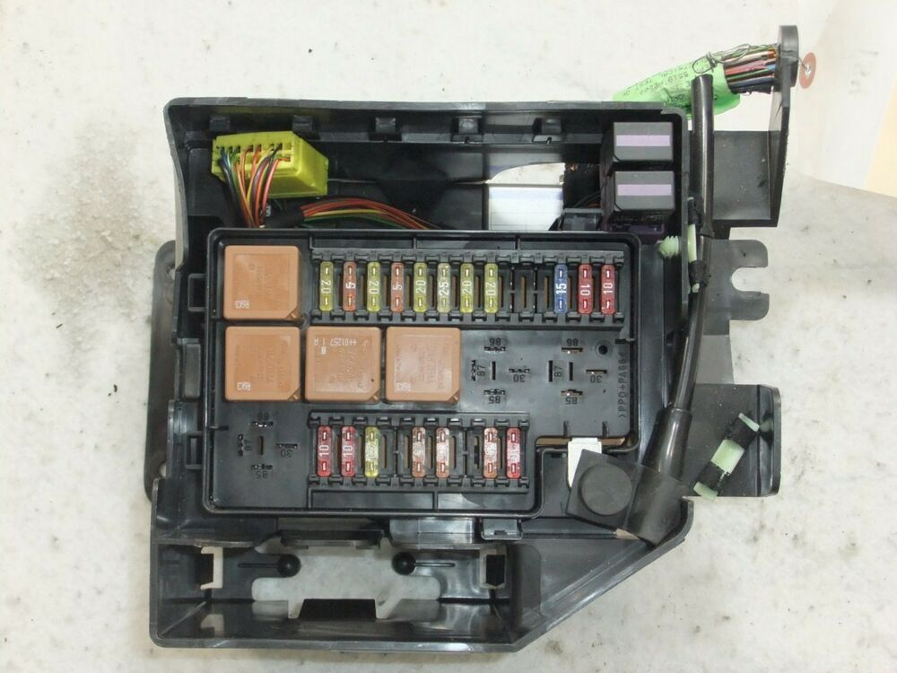 Fuse Box  Panel Jaguar Xj8 1998 Oem