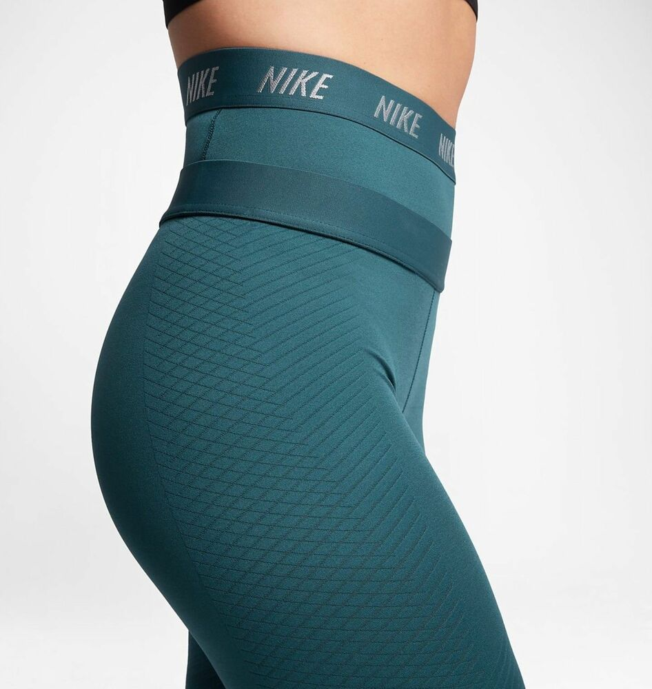 506e24711c2a5 Details about NWT $150 WOMEN'S NIKE ZONAL STRENGTH HIGH RISE TIGHTS GREAT  COLOR COMFORT MEDIUM