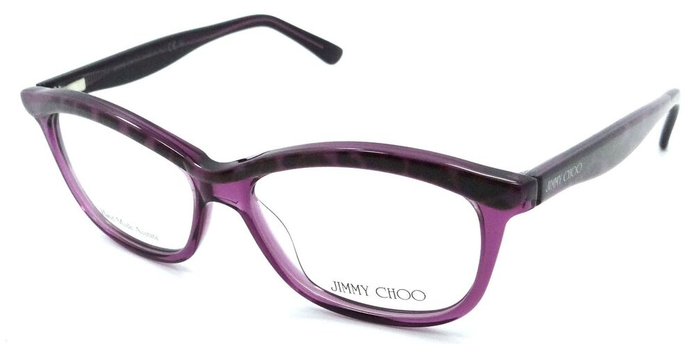 5373e620a47 Details about Jimmy Choo Rx Eyeglasses Frames JC 69 XC1 51-14-135 Panther  Violet Made in Italy