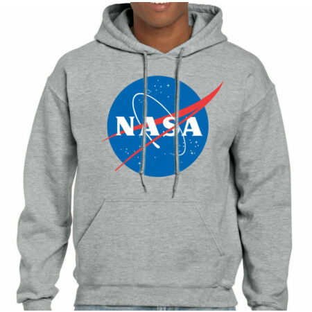 img-NASA - Mens Geek Nerd Big Bang Theory Logo Hoodie Retro Space Sheldon Cooper