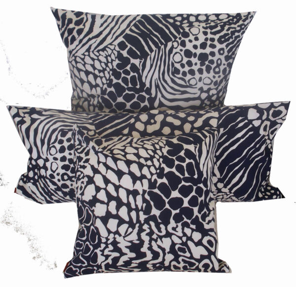 MISSONI HOME FODERA CUSCINO BIANCHIBLU COLLECTION PILLOW COVER COTTON REPPS