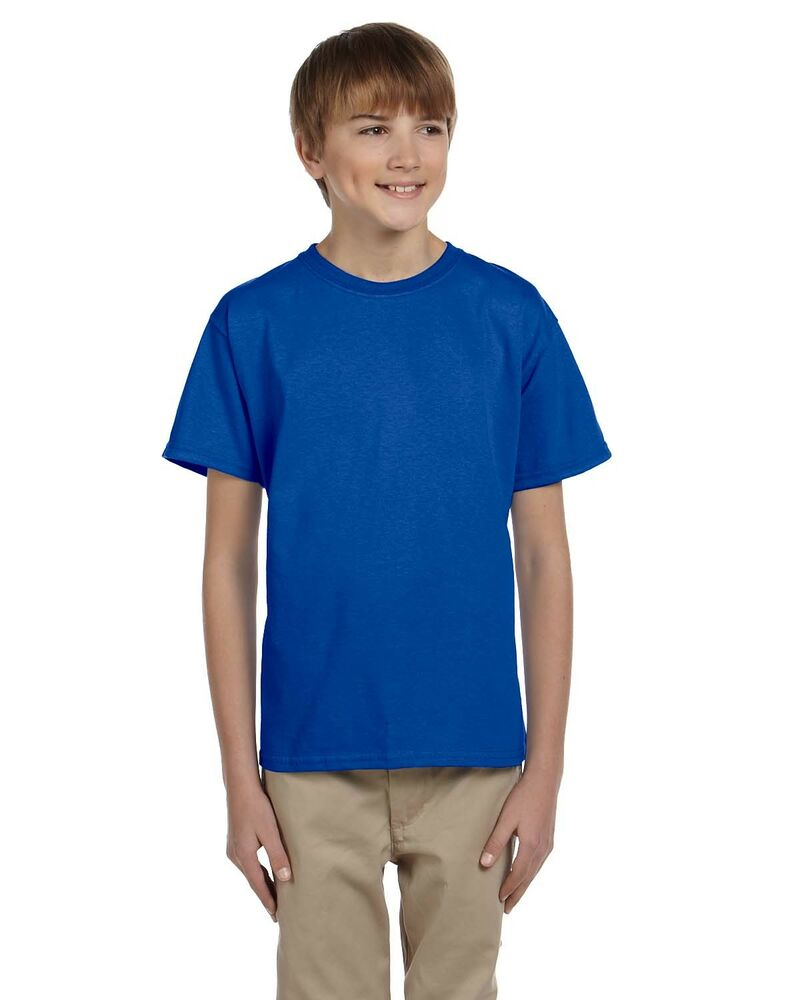 1d1549da Gildan Boys 6.1 oz. Ultra Cotton T-Shirt 6 Pack G200B All Sizes | eBay