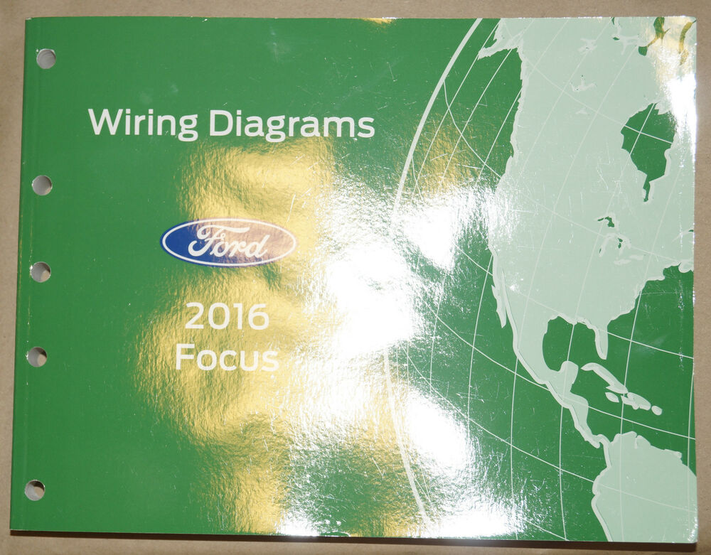 2016 Ford Focus Evtm Factory Electrical Wiring Diagrams Service Rhebaycouk: 2016 Ford Focus Wiring Diagram At Cicentre.net