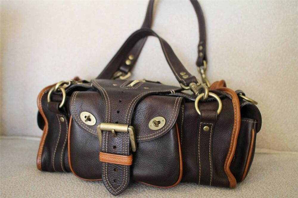 Details about MULBERRY TWO TONE EMMY DARWIN SATCHEL BAG PURSE (pu1300 133adbe692beb