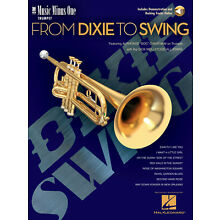 From Dixie to Swing for Trumpet Jazz Sheet Music Minus One Play-Along Book Audio