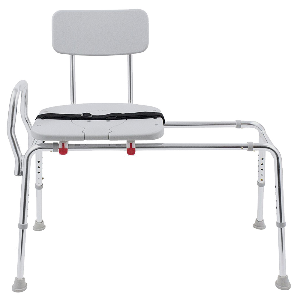 Eagle Health Sliding Bath Shower Transfer Bench Chair With