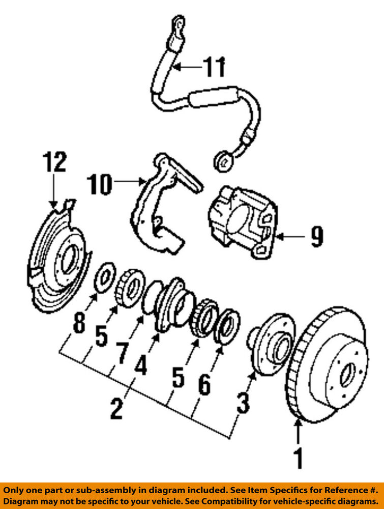 Jeep Chrysler Oem 91 01 Cherokee Brake Master Cylinder Repair Kit