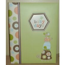 Carter's ~ Baby Days Laguna Memory Book ~ Neutral Colors for a Boy or a Girl