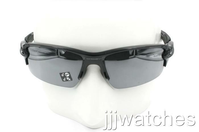 5df023d737 Details about New Oakley FLAK 2.0 Polished Black Iridium Polarized  Sunglasses OO9295 07  193