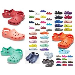 Kyпить 25 + colors, CROCS Original CLASSIC Clogs Shoes sandals sizes  2 -17, vegan  на еВаy.соm