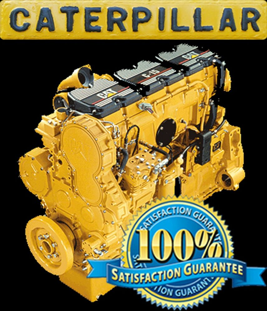 CATERPILLAR CAT C11 C13 C15 ON-HIGHWAY ENGINE REPAIR SERVICE MAINTENANCE  MANUAL | eBay