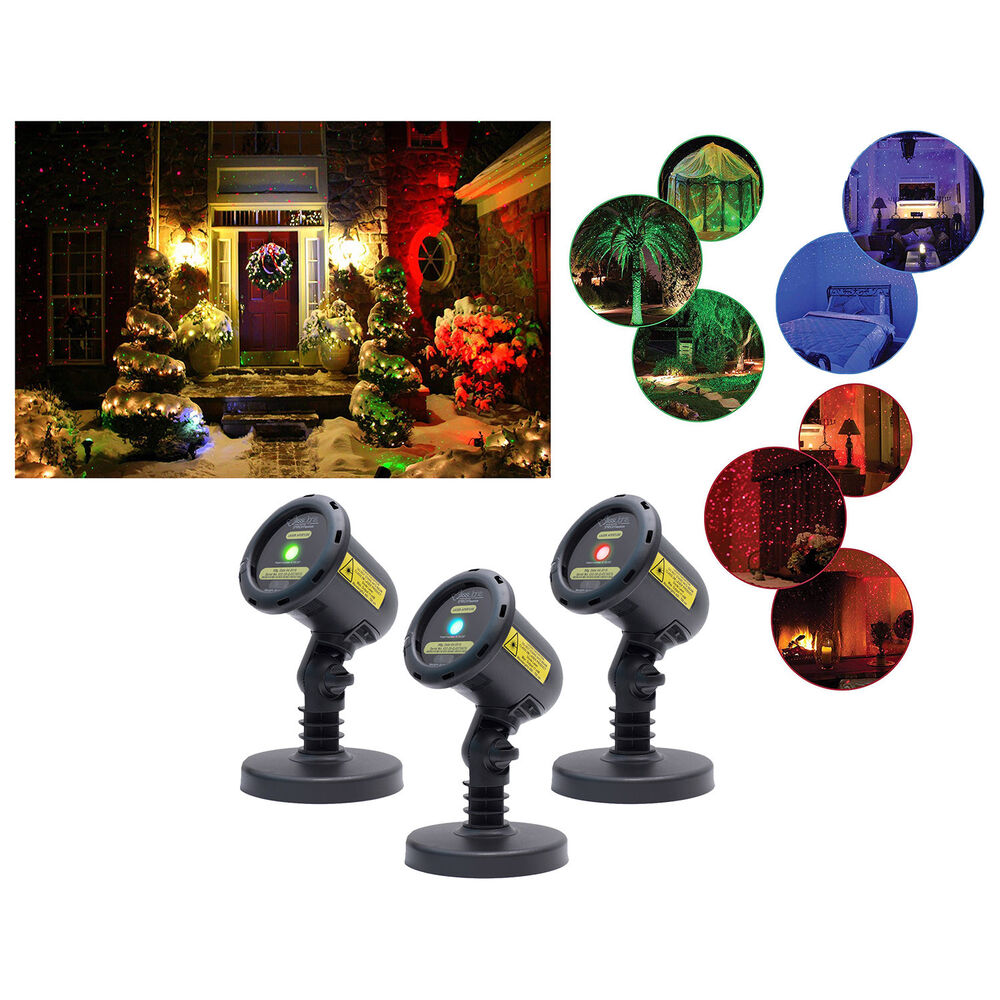 Blisslights Holiday Christmas Outdoor Decoration Firefly ...