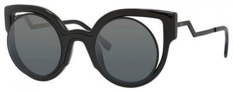 8f5adcd8416b Details about New FENDI FF 0137 S NT2 CN Cat-Eye Sunglasses