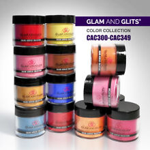Glam and Glits - Color Acrylic Collection Color Powder 1oz *Choose any one* CAC