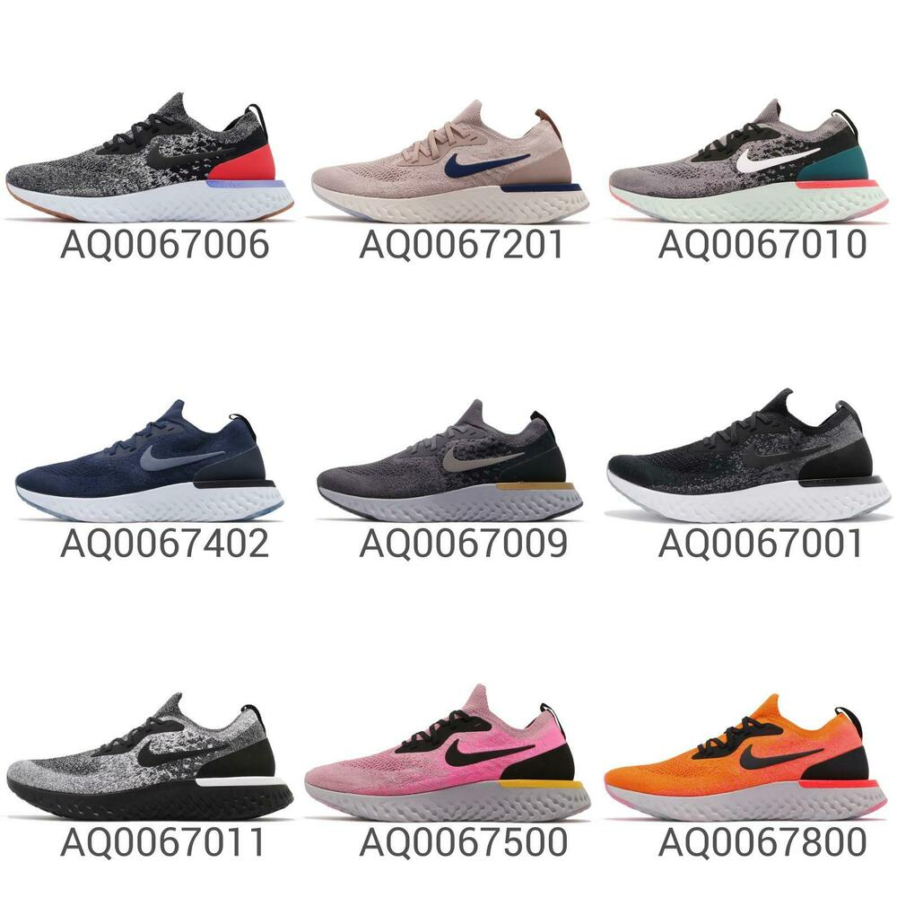 new concept f163b 139f8 Nike Epic React Flyknit Mens Cushion Lightweight Running Shoes Trainers  Pick 1   eBay