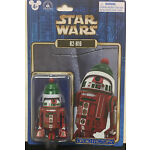 Disney Parks Star Wars 2016 R2-H16 Holiday Christmas Droid Factory Figure