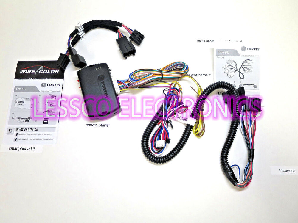 Details About Oem Factory Activated Plug And Play Remote Start 2007 2017 Cadillac Escalade