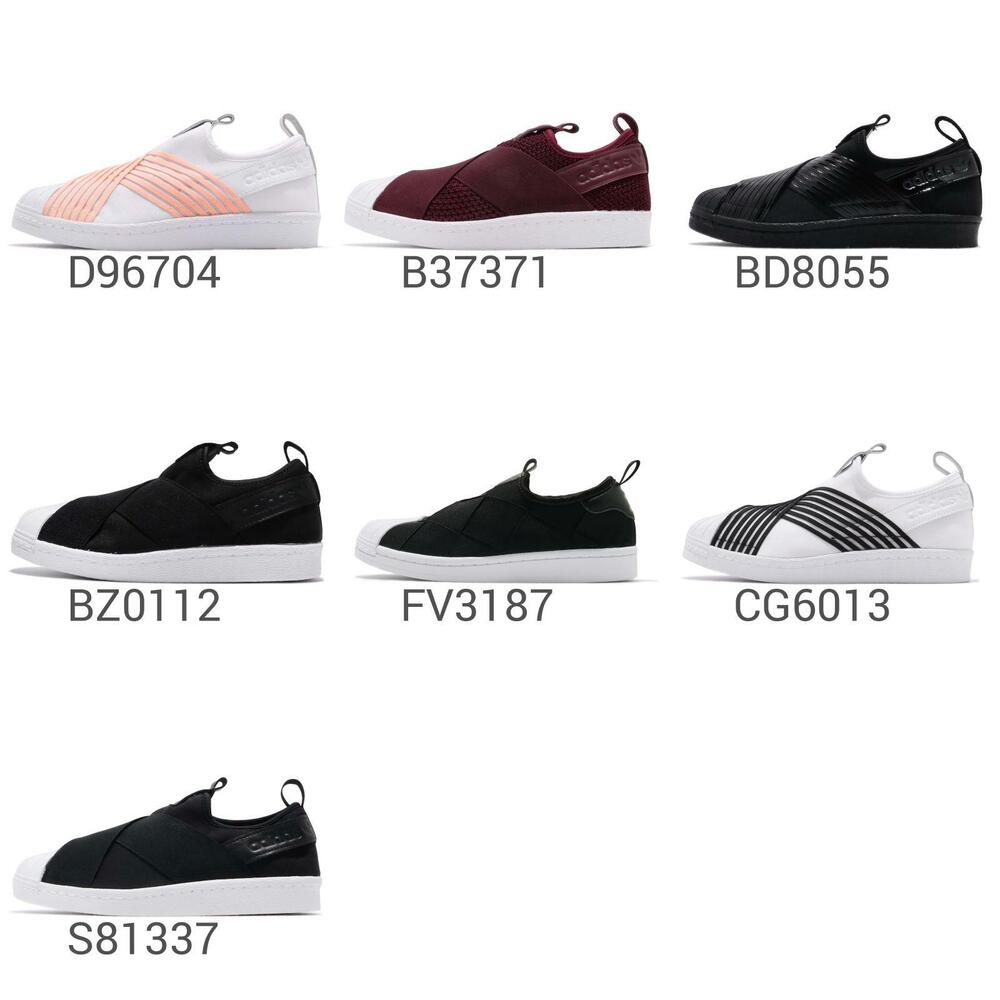 the best attitude bc2f3 79a78 adidas Originals Superstar Slip On W Strap Womens   Men Shoes Sneakers Pick  1   eBay