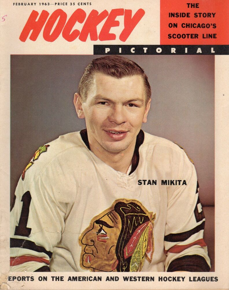 Hockey Pictorial Magazine Stan Mikita Chicago Blackhawks Fair Ebay