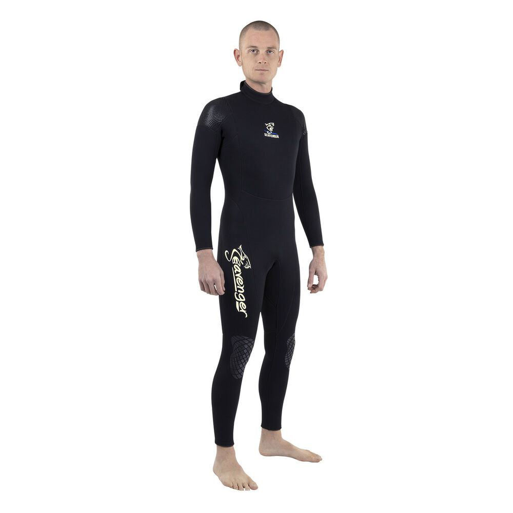 Details about Preowned Seavenger 3mm Neoprene Men Full Wetsuit Stretch  Panels 26a27e783