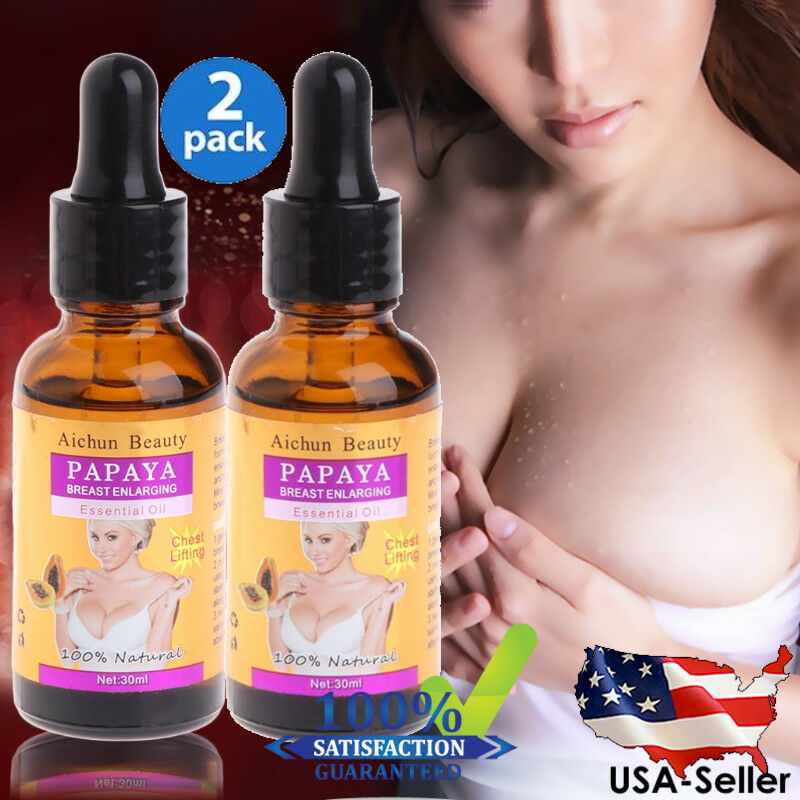 Details about #1 BEST - Bigger Breasts Enlargement MASSAGE OIL Big Bust  Butt Bigger Boobs 60ml
