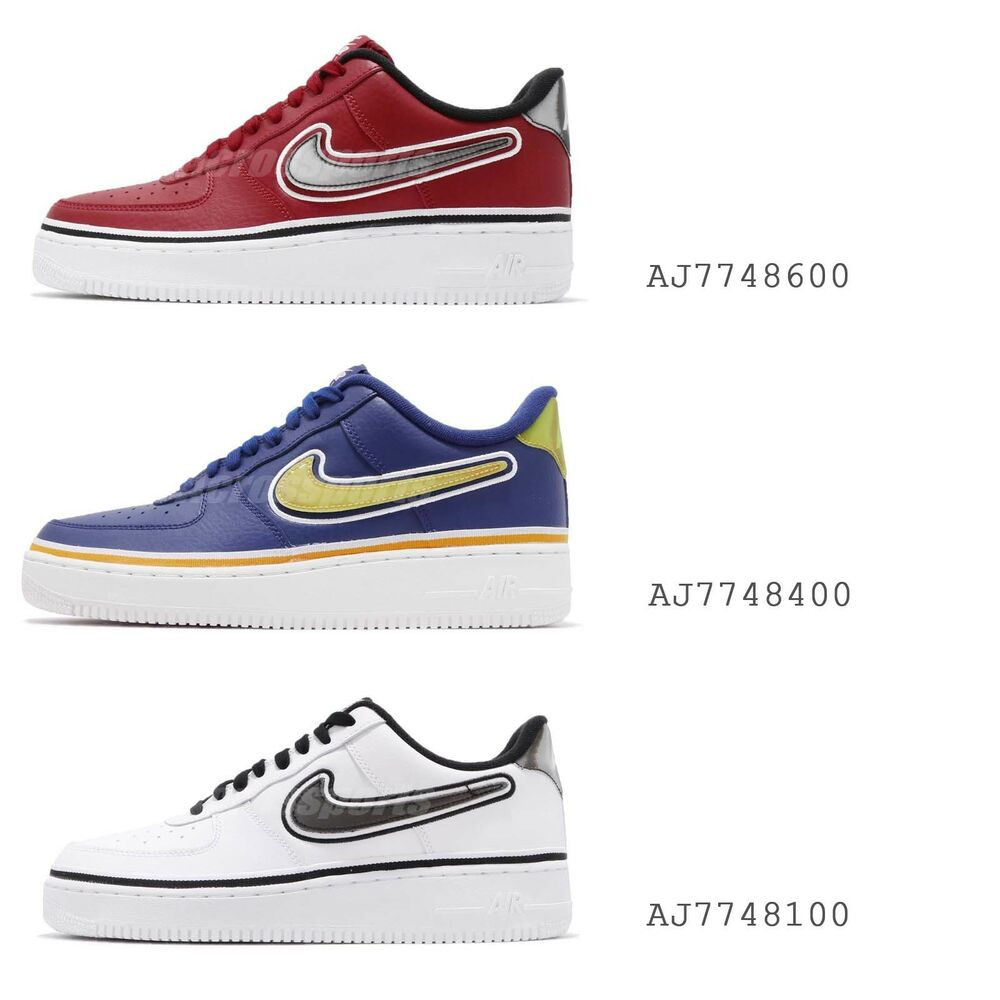 new style 6c6d2 faefb Details about Nike Air Force 1 07 LV8 Sport NBA Pack Classic Sneakers Mens  Shoes Pick 1