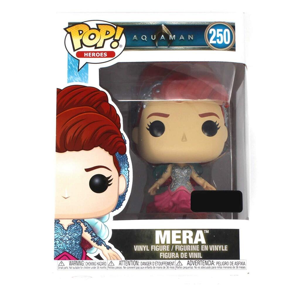 2c2a8054a7a Funko POP! Movies  DC Aquaman- Mera Toy Figure (Game Stop Exclusive)  250  889698336765
