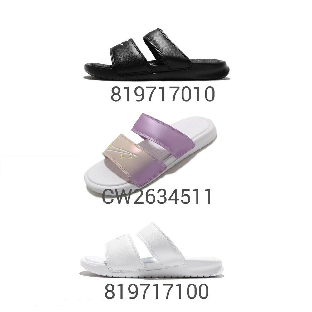 e66414667528c2 Details about Nike Wmns Benassi Duo Ultra Slide Women Slip On Sports  Sandals Slippers Pick 1