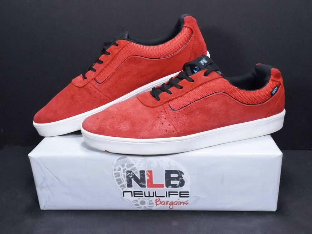 85663f9967 Details about Vans Off The Wall TC8G Suede Red Black VN-0SEMY25 Men s Size  10 SKATEBOARDING