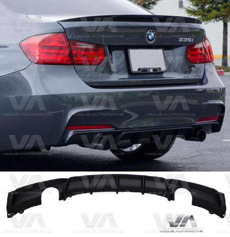 Bmw 3 Series F30 F31 M Sport Performance Rear Diffuser Twin Outlet