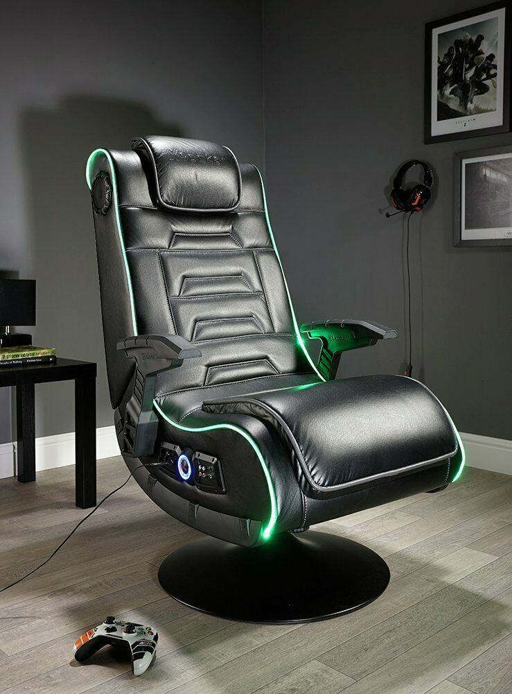 X Rocker New Evo Pro Gaming Chair Led Edge Lighting