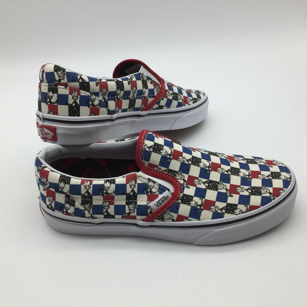 Details about Vans Men Women s Shoe s Classic Slip-On--(Marvel)  Guardians Multi 9aef4f7b5