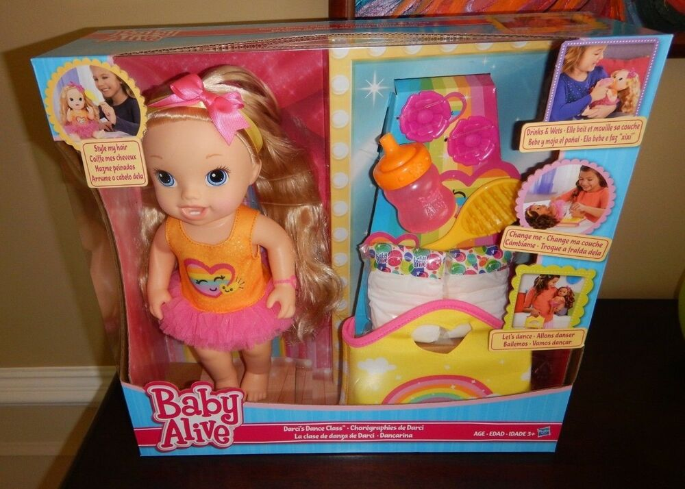 New Baby Alive Darci S Dance Class Blonde Hair Doll By