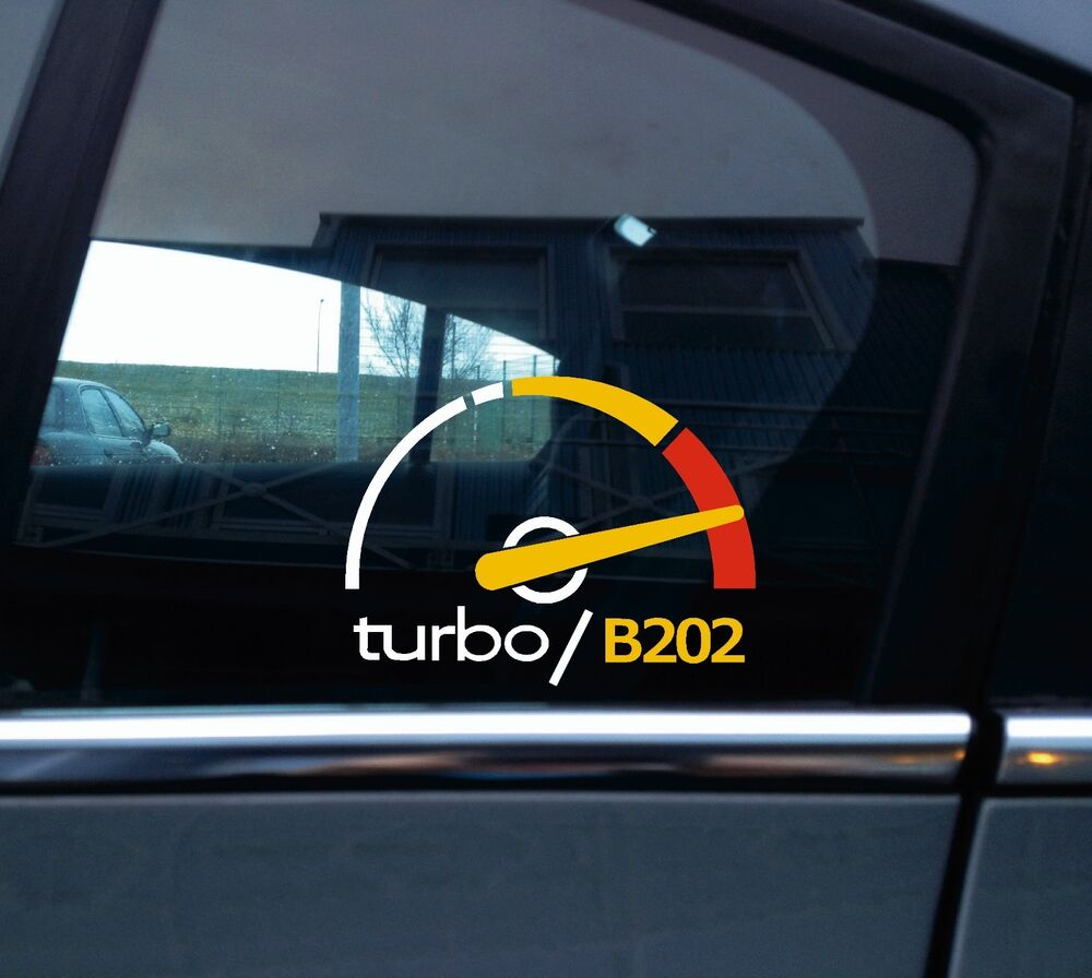 Details about turbo b202 boost sticker decal for saab 900 turbo retro classic