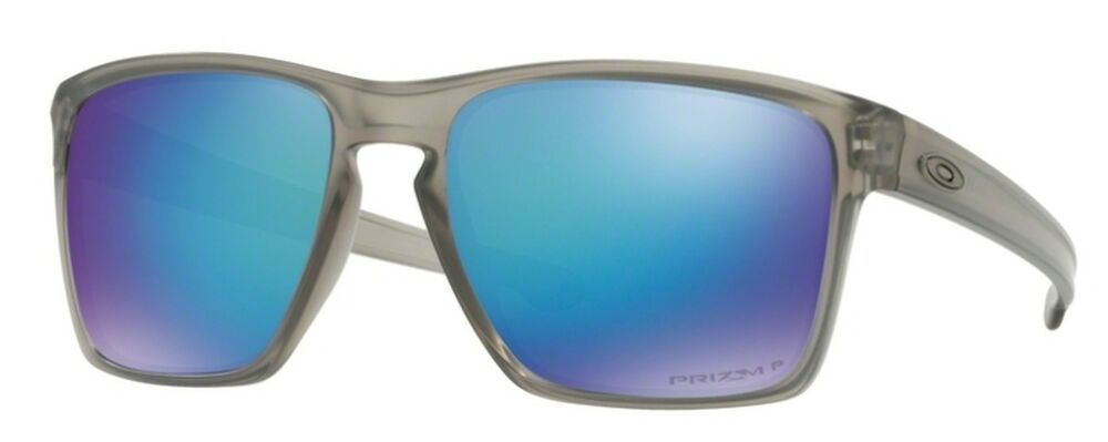 e87e75acde7 Details about oo9341-18 57 Oakley Sunglasses Sliver XL Matte Grey Ink Prizm  Sapphire Polarized