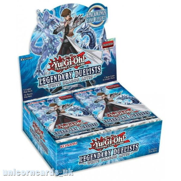 YuGiOh! Legendary Duelists: White Dragon Abyss 1st Edition Box x36 Booster Packs