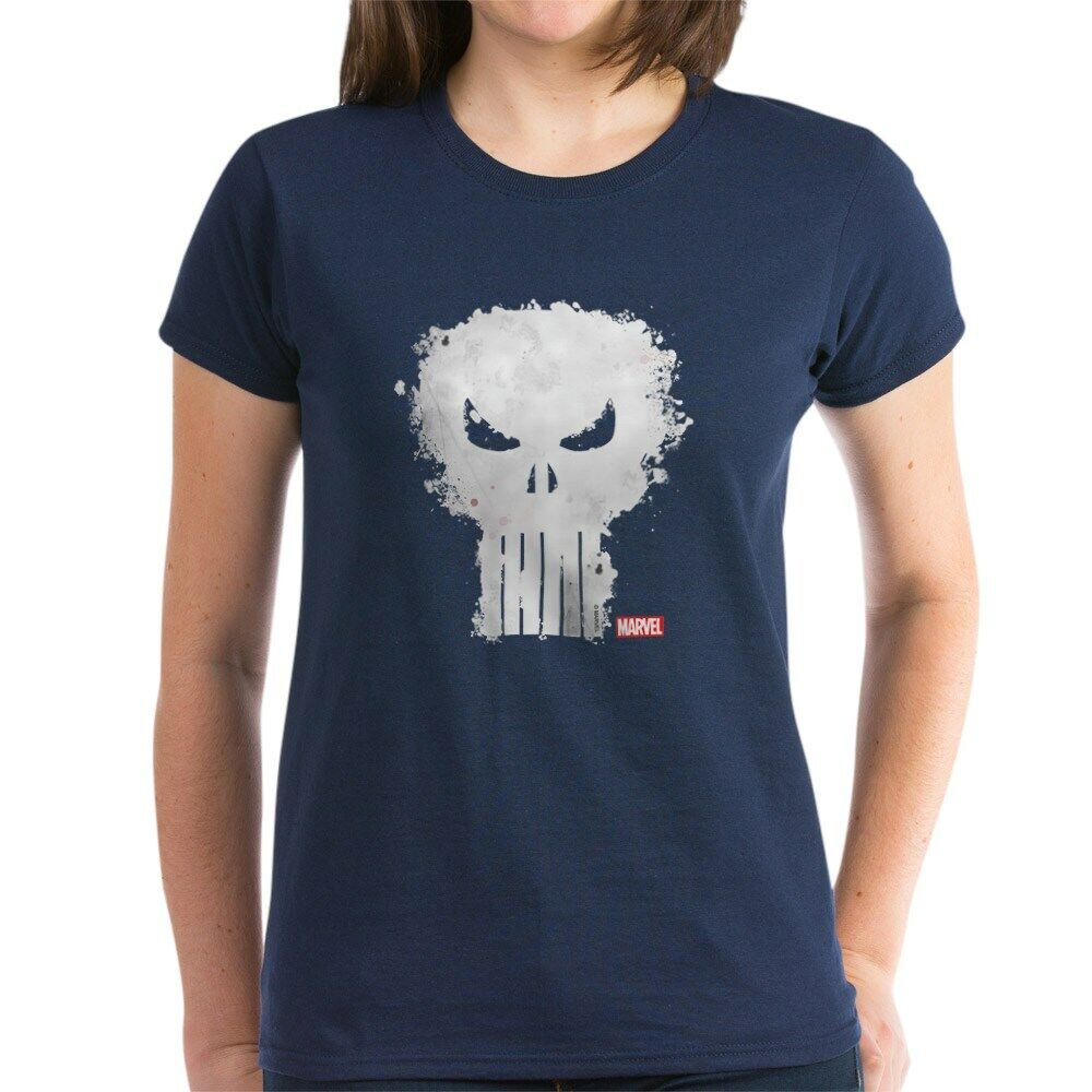 9c81d053 Details about CafePress Punisher Skull Women's Dark T Shirt Womens T-Shirt  (1295466982)